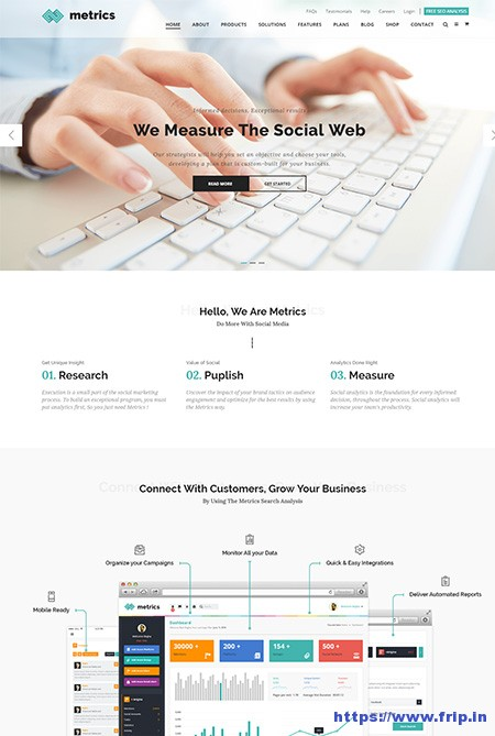 Metrics-Business-SEO-HTML-Template