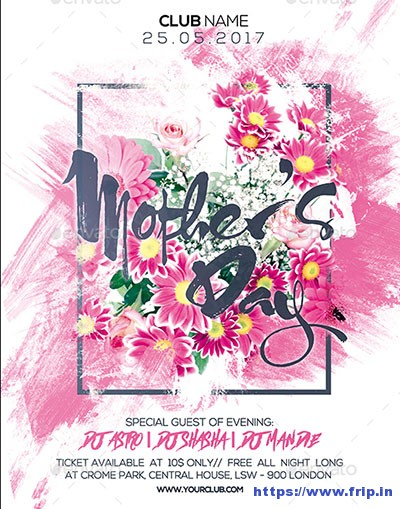 Mothers-Day-Party-Flyer
