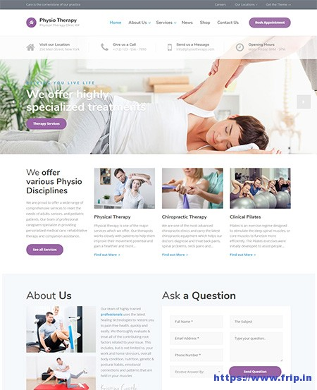 Physio-Physical-Therapy-WordPress-Theme