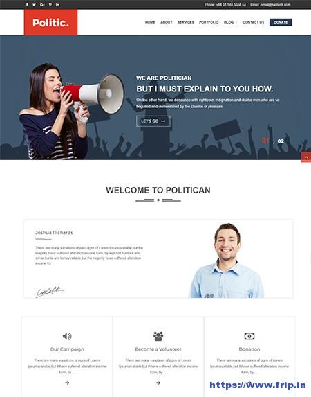 Politc-Political-WordPress-Theme