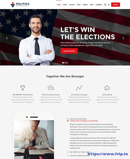 Politica-WordPress-Theme