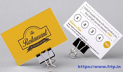 Restaurant-Flyer-&-Loyalty-Card-Template