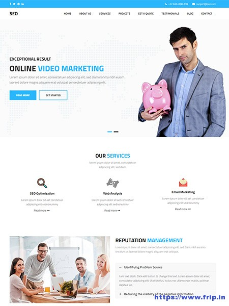 SEO-Marketing-WordPress-Theme