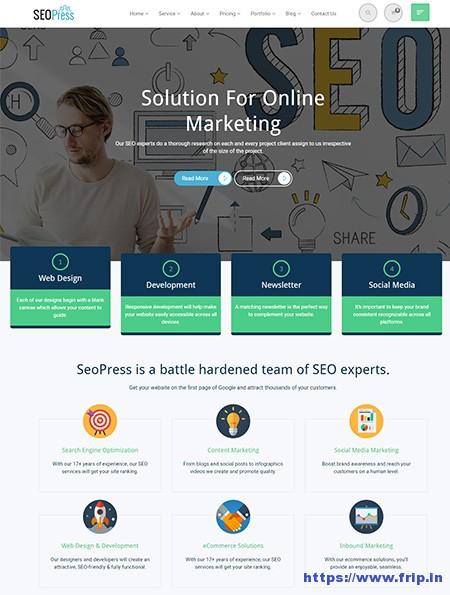 seo website templates