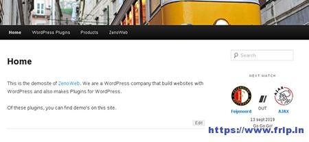Sportsteam-Widget-WordPress-Plugin