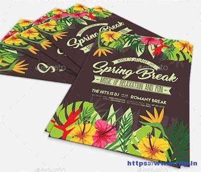 Spring-Breakflyer