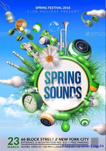 Spring-Break-Flyer-Templates