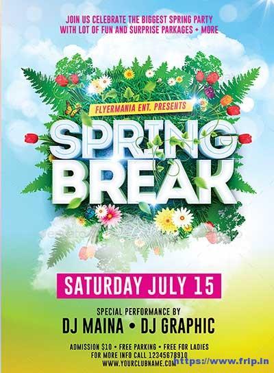 Spring-Break-Flyer-Template