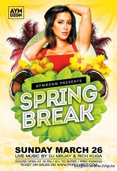Spring-Break-Flyer
