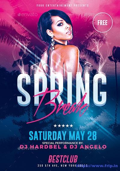 Spring-Break-Party-Flyer