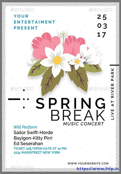 Spring-Break-Party-Flyer