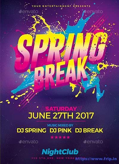 Spring-Break-Party-Flyer-Template