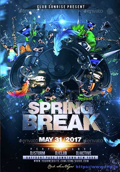 Spring-Break flyer