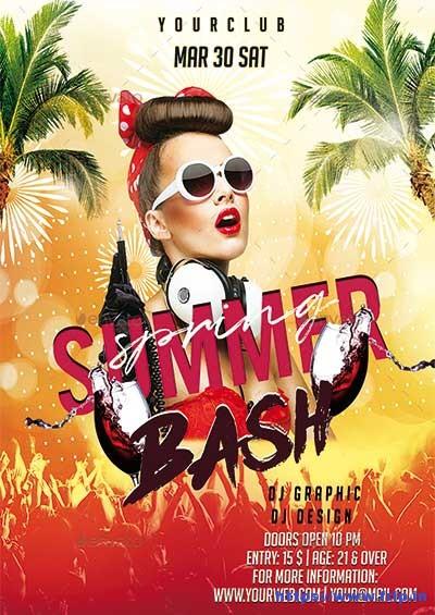 Spring-Summer-Bash-Flyer