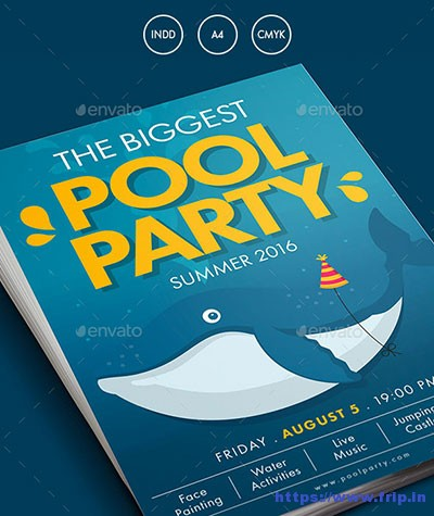 Summer-Pool-Water-Party-Flyer