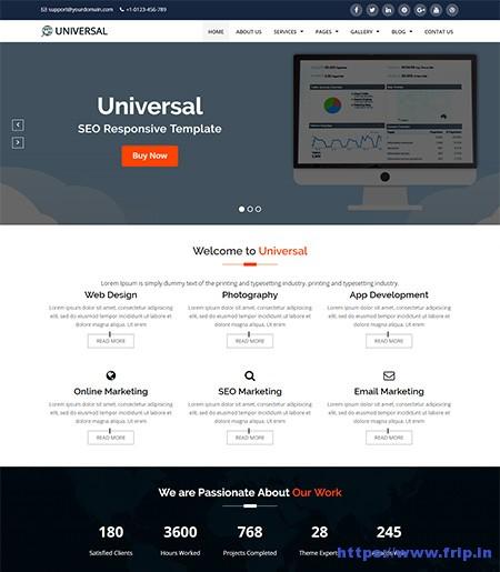 Universal-SEO-HTML-Template