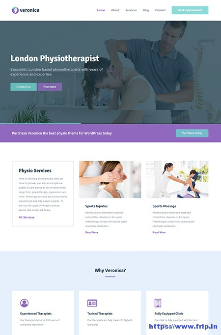 Veronica-Physiotherapy-Medical-WordPress-Theme