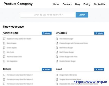 WP-Knowledgebase-Plugin