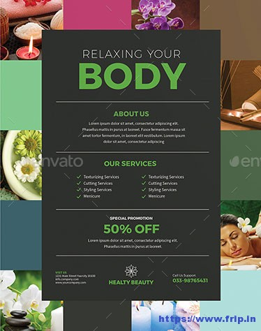 Colorful-Spa-Flyer