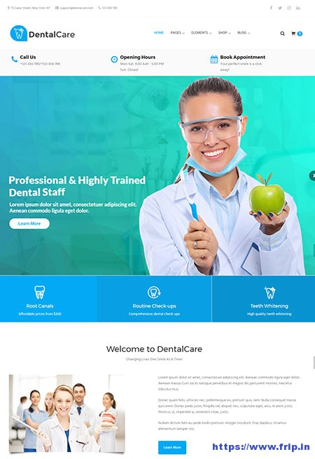 Dental-Care-Dental-WordPress-Theme