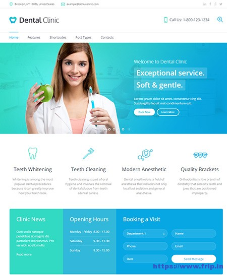 Dental-Clinic-Medical-&-Dentist-WordPress-Theme