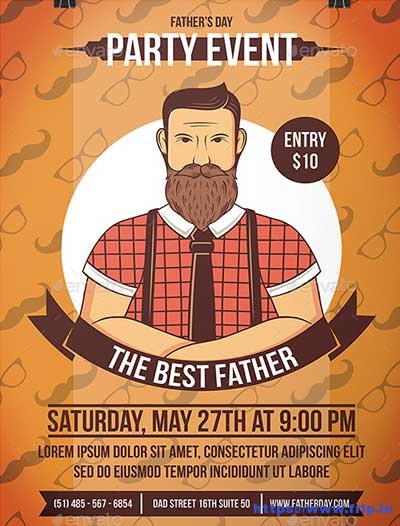 Fathers-Day-Flyer-Template