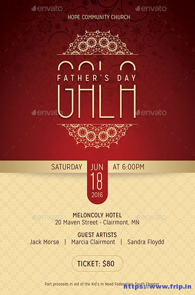 Fathers-Day-Gala-Flyer-Template