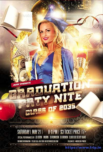 Graduation-Party-Night-Flyer