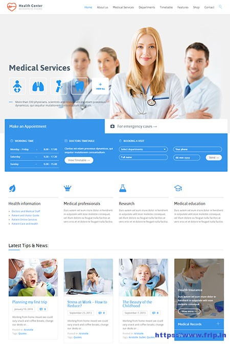 Health-Center-WordPress-Theme
