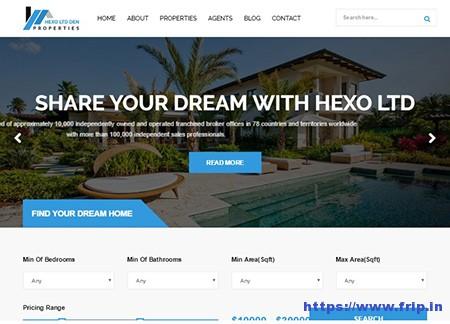 Hexo-Real-Estate-WordPress-Theme