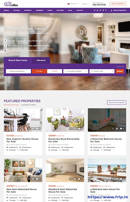 Home-Villas-Real-Estate-WordPress-Theme