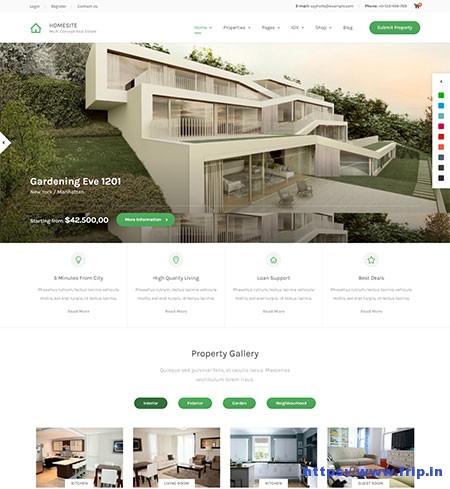 Homesite-Real-Estate-WordPress-Theme