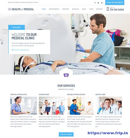 Medical-WordPress-Theme