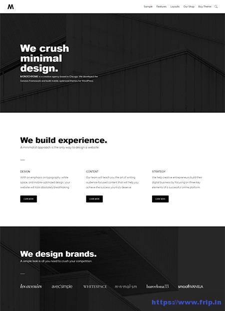 Monochrome-Pro-WordPress-Theme