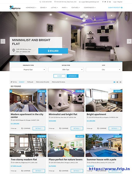 MyHome-Real-Estate-WordPress-Theme