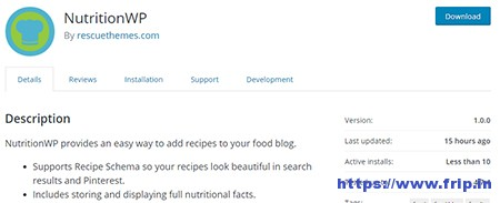 NutritionWP-WordPress-Plugin