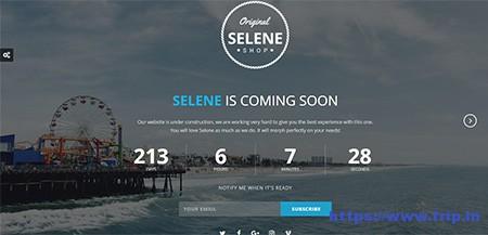 Selene-Coming-Soon-Template