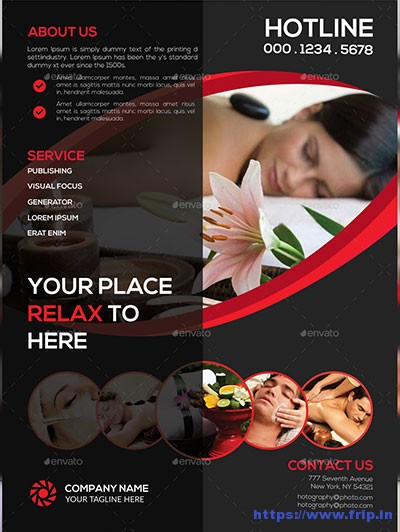 Spa-Business-Flyer