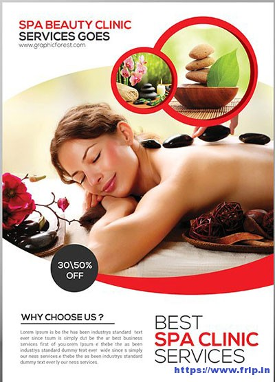 Spa-Flyer-Template