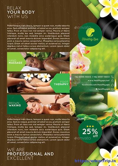 Spa-Massage-Flyer