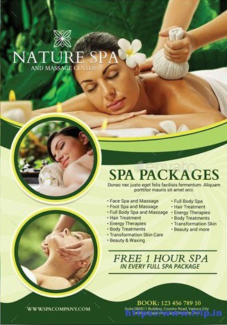 Spa-&-Relax-Services-Flyer