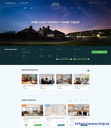 Space-Home-Real-Estate-WordPress-Theme