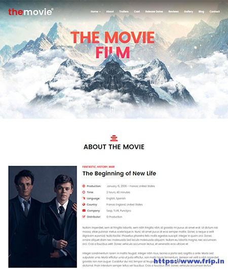 The-Movie-Cinema-Film-&-Series-WordPress-Theme