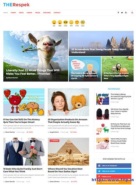 viral website templates