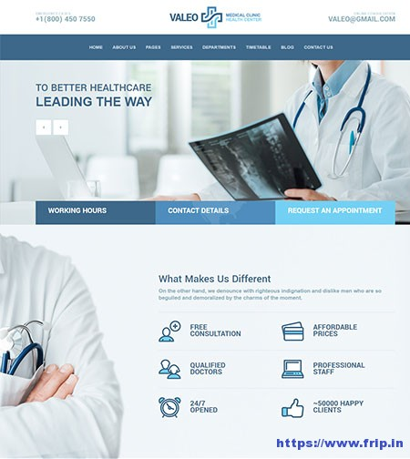 Valeo-Medical-WordPress-Theme