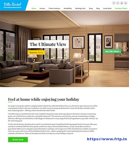 Villa-Rental-WordPress-Theme