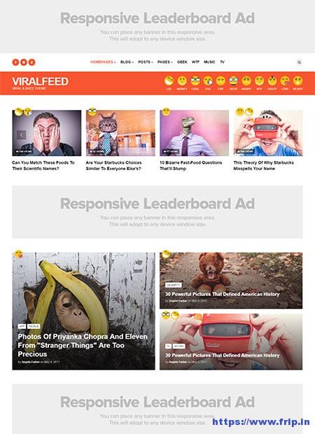 Viralfeed-Viral-&-Buzz-Template