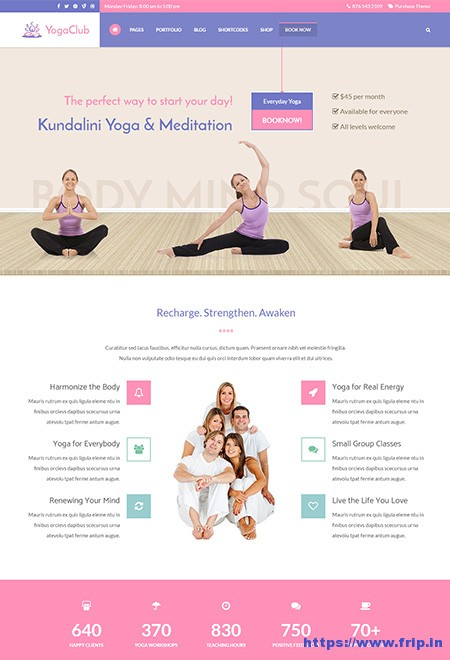 Yoga-Club-WordPress-Theme