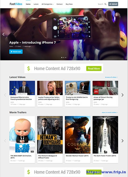 fast-video-wordpress-theme