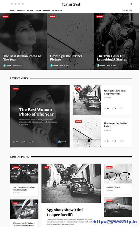 featured-magazine-wordpress-theme